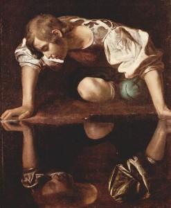 Narcissus, Caravaggio(1573~1610)