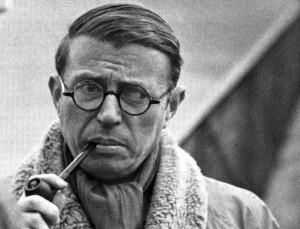 장폴 사르트르(Jean-Paul Charles Aymard Sartre, 1905~1980), 프랑스 실존주의 철학자, 작가ⓒmirror.enha.kr