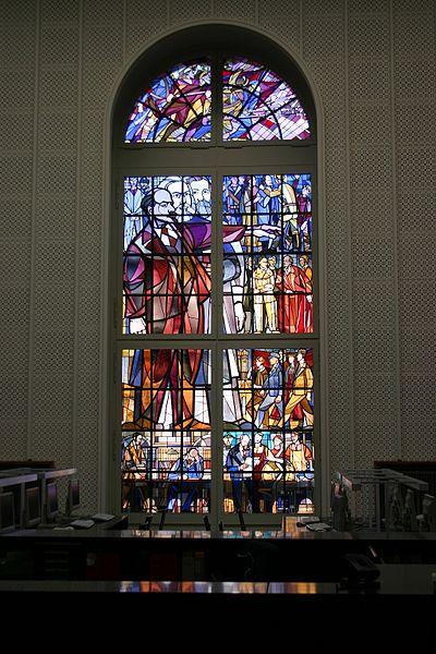 현 훔볼트 대학교 법학과 도서관의 레닌 창문
