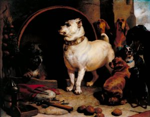 Alexander and Diogenes exhibited 1848 Sir Edwin Henry Landseer 1802-1873 Bequeathed by Jacob Bell 1859 http://www.tate.org.uk/art/work/N00608